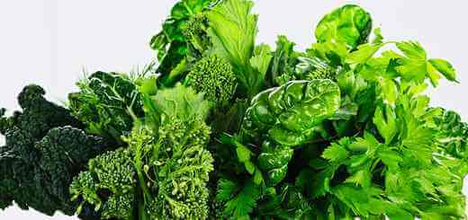 Assorted leafy green vegetable