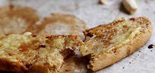 Healthy Vegan Garlic Bread