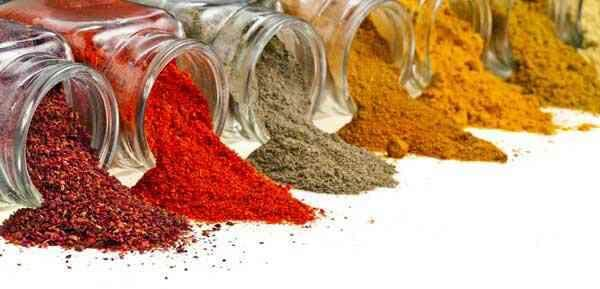 Frequently Used Spices