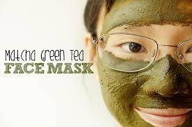 Acne Reducing Matcha and Lemon Face Mask