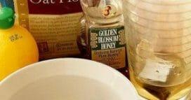 - Green Tea Bag, Oatmeal and Honey Acne Mask