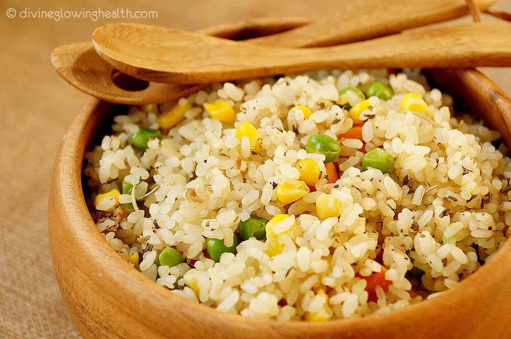 - Brown Rice Salad