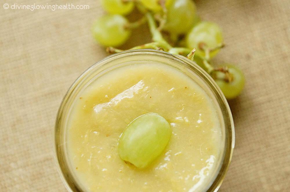 - Green Grape Sauce (Used as a Sweetener)
