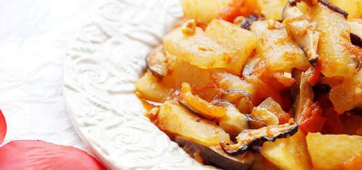 Wintermeleon Shiitake Mushrooms Tomato_Recipe