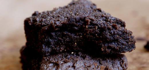 Chocolate Flavoured Brown Rice Brownies