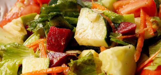 Cooling Spring Salad