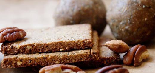 Healthy Multigrain Energy Truffles and Crackers