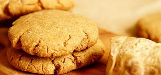 Healthy Vegan Ginger Molasses Cookies