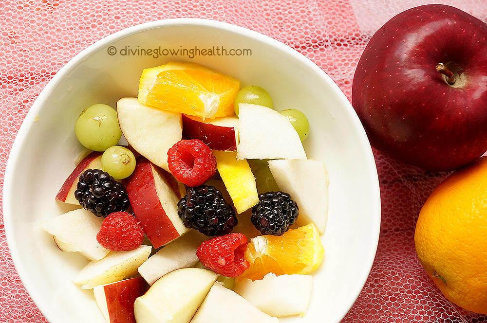 - Rainbow Fruit Salad