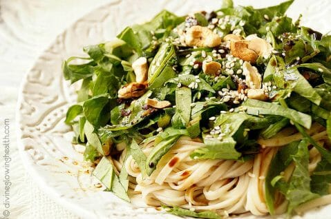 - Super Green Power Packed Noodles